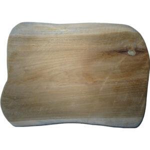 Holzschild aus Teakholz